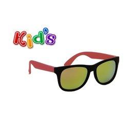 Kinderzonnebril   Zwart-roze   130 MM