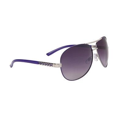 Pilotenbril, fashion zonnebril, paars