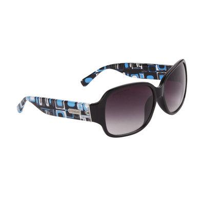 Dames Zonnebril, Designer eyewear, Twilight zwart-blauw