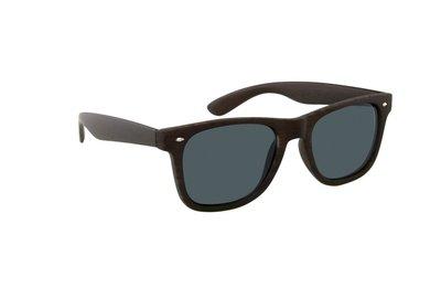Gepolariseerde zonnebril San José | Houtlook | Donkerbruin | 148 MM