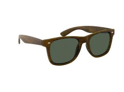 Gepolariseerde zonnebril San José | Houtlook | Bruin | 148 MM