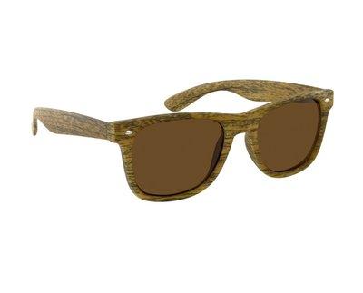 Gepolariseerde zonnebril San José | Houtlook | Lichtbruin | 148 MM