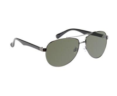 Gepolariseerde zonnebril El Paso | Pilotenbril | Groene glazen | 145 MM