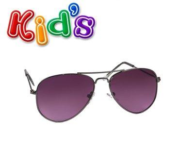 Kinder zonnebril, pilotenbril Milwaukee, Zwart