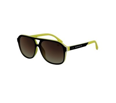 Ozzie zonnebril, Fresno, Sportief, Bruin-Geel