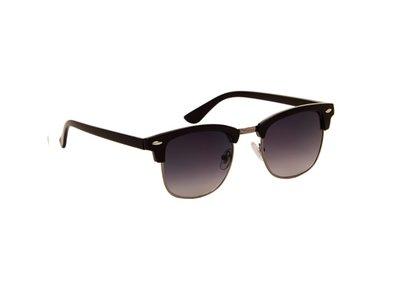 Gepolariseerde zonnebril Las Palmas | Zwart | Donkergrijze glazen | 137 MM