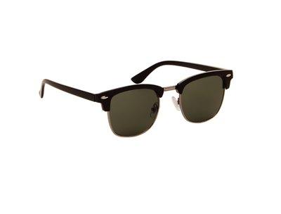 Gepolariseerde zonnebril Las Palmas | Zwart | Groene glazen | 137 MM