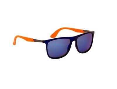 Gepolariseerde zonnebril | Zwart-Oranje | 143 MM