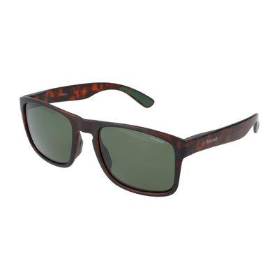 Polaroid zonnebril | Luipaardprint | Gepolariseerd | 140 MM