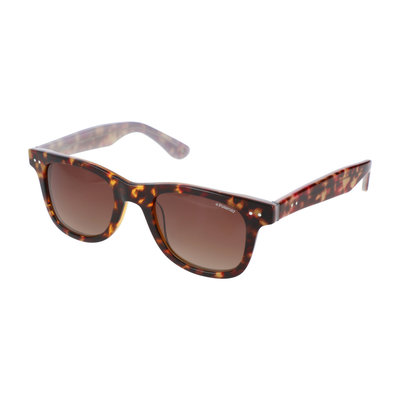 Polaroid zonnebril   Luipaardprint   Gepolariseerd   147 MM