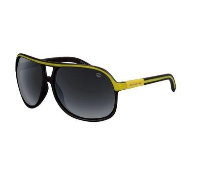 Ozzie polarized zonnebril, Grijs-geel