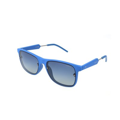 Polaroid zonnebril  Blauw   Gepolariseerd   141 MM