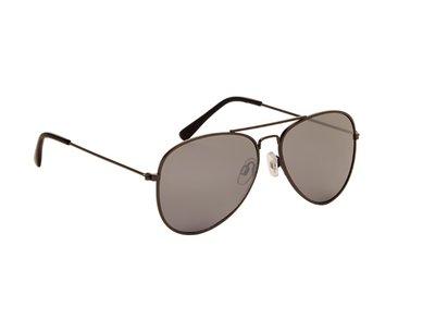 Pilotenbril | Grijze glazen | 139 MM