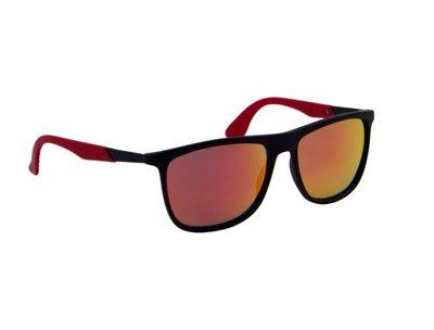 Zonnebril Zwart-Rood | 143 MM