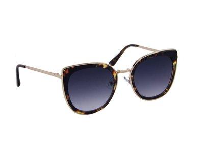 Dames zonnebril | Luipaardprint | 143 MM