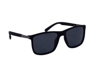 Gepolariseerde zonnebril | Donkergrijs met grijze glazen | 140 MM
