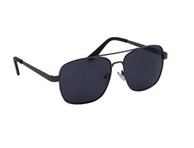 Gepolariseerde heren zonnebril | Donkergrijs | 140 MM