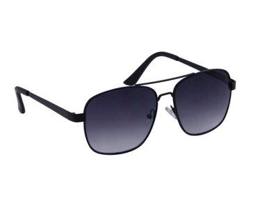 Gepolariseerde heren zonnebril | Mat zwart | 140 MM