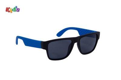 Kinderzonnebril   Zwart-Blauw   126 MM