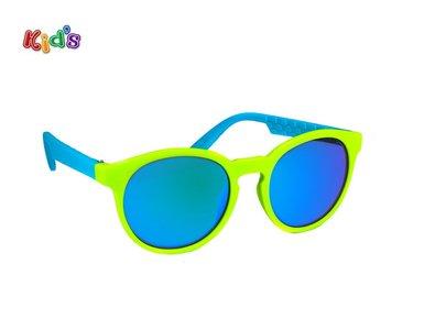 Kinderzonnebril | Groen-Blauw | 124 MM