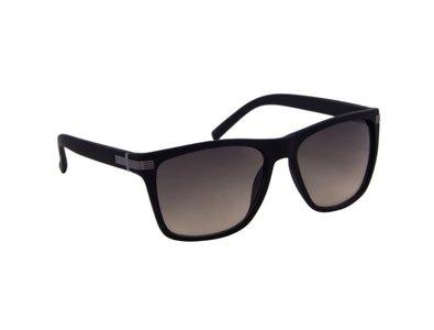 Zonnebril zwart met bruine glazen | 141 MM