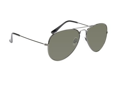 Gepolariseerde pilotenbril, Zonnebril Charlotte, Zwart