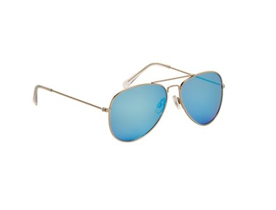 Gepolariseerde pilotenbril Rome, Blauw