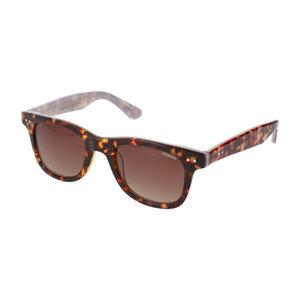 Polaroid zonnebril wayfarer luipaard