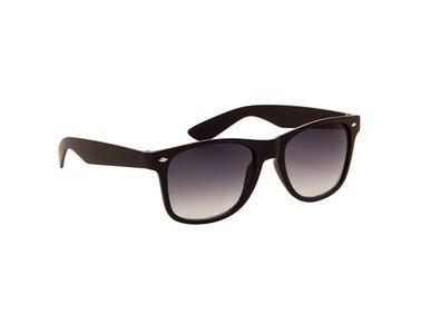Gepolariseerde zonnebril   Zwart met grijze glazen   145 MM